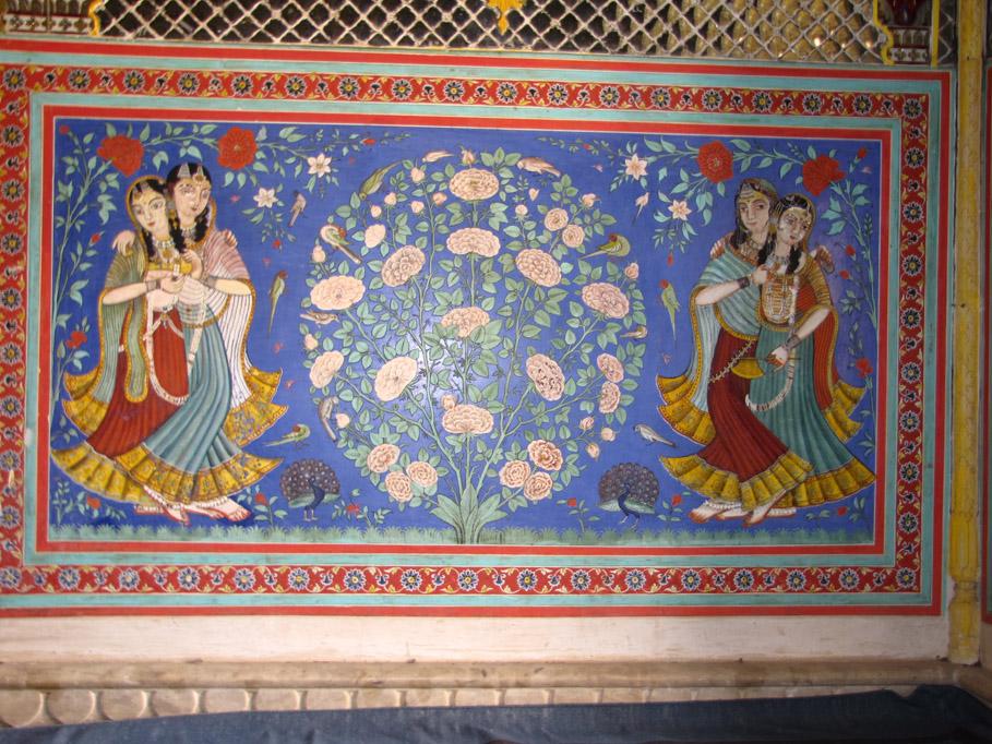 India, palacio de Samode