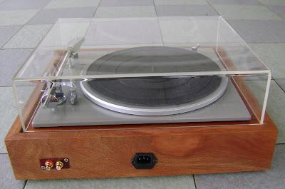Lenco L75 turntable ( Used ) Sold Lenco%2BL75%2Brear%2B11