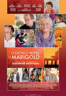 """Pôster nacional do filme """"O Exótico Hotel Marigold"""""""