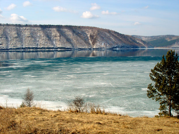 The freshwater sea Lake Baikal