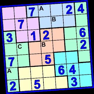 retos matematicos, problemas de ingenio, problemas de ingenio matemático, matemática divertida, Sudoku, Sudoku 7x7