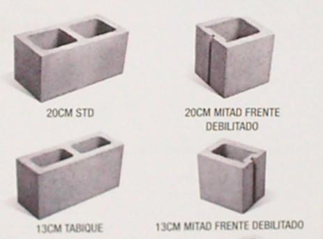Mardel tierra - Precio de bloques de hormigon ...