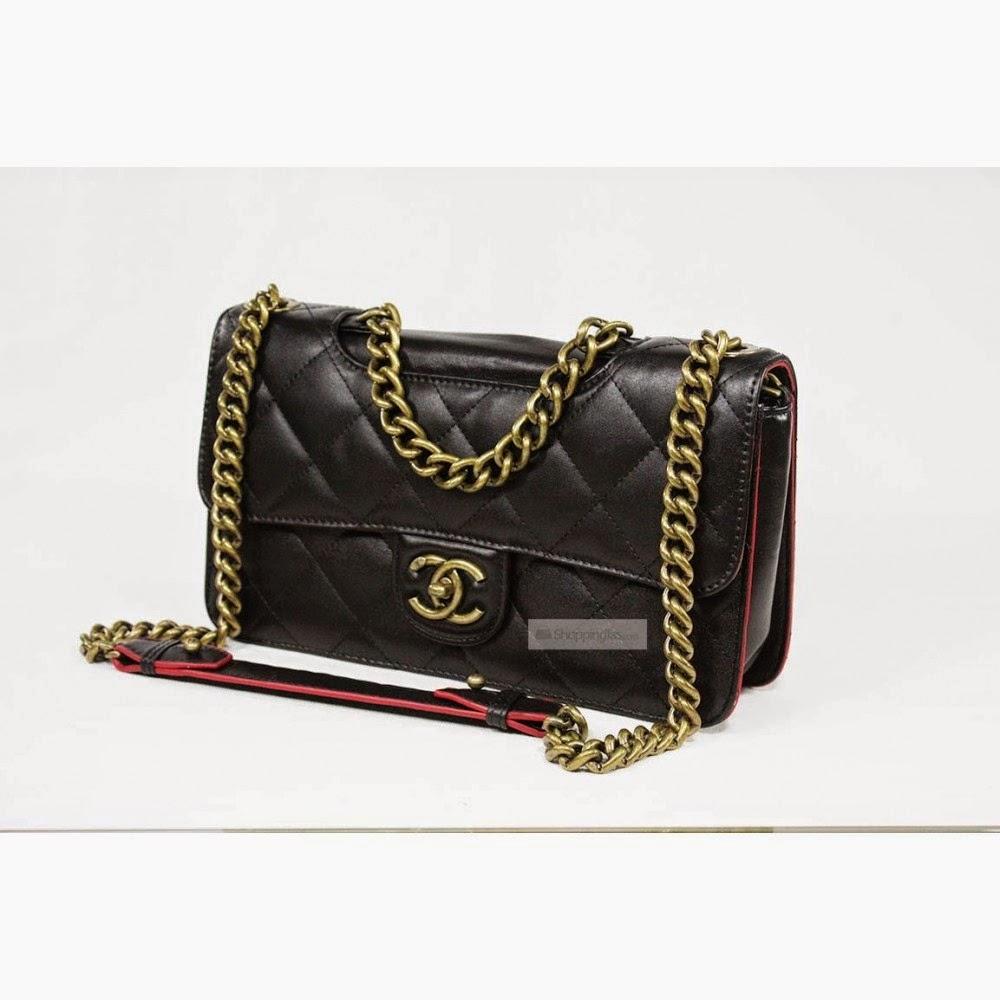 Tas Chanel C2016 Hitam (Aneka Produk Tas Wanita)