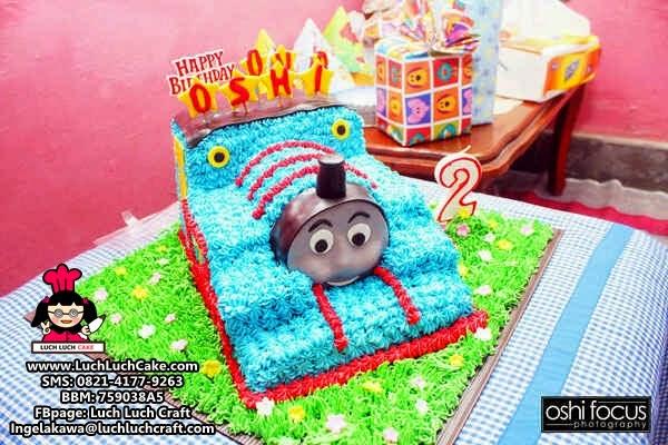 Kue Tart Thomas 3D