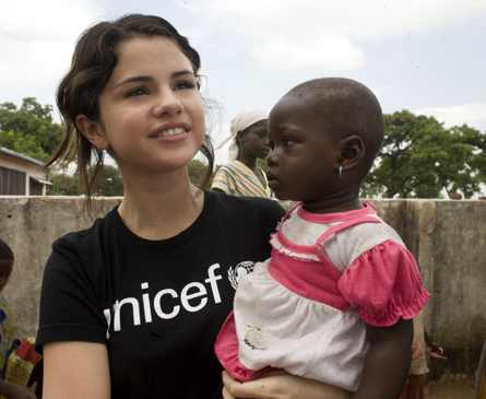 Star celebrity news selena gomez on unicef giving back and growing