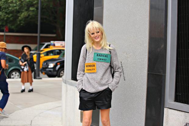 Hanne Gaby Odiele, New York, September 2015