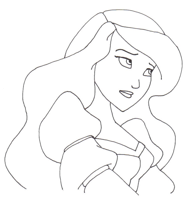 disney swan princess coloring pages - photo#2