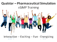 Qualstar - Pharmaceutical Simulation - Advanced cGMP Training