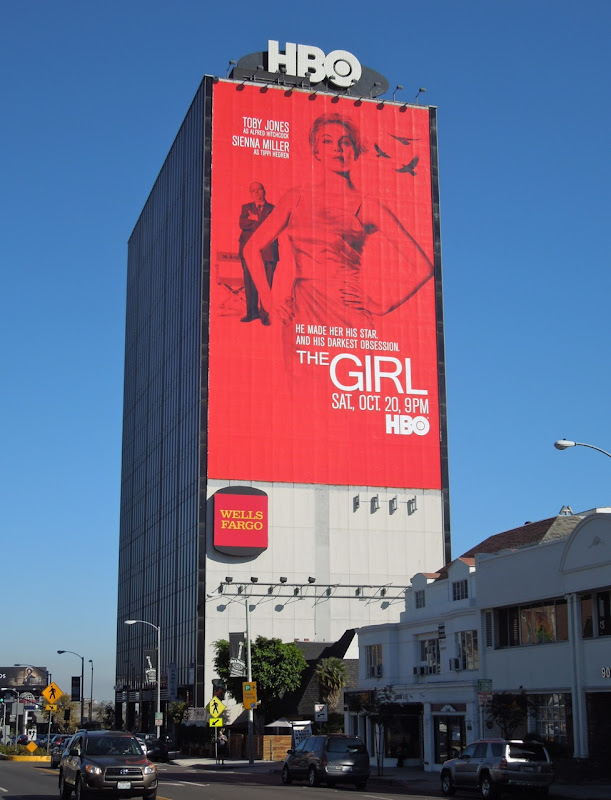 Girl giant HBO billboard