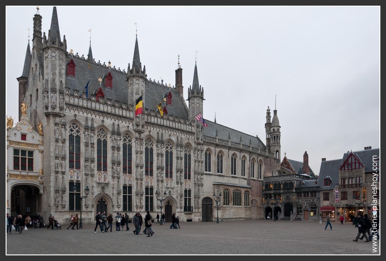 Plaza Burg Brujas