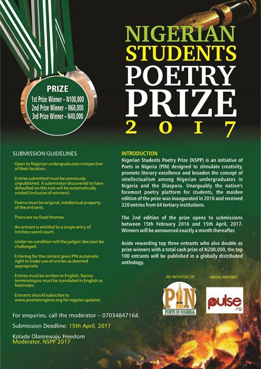 Student Poetry Competition