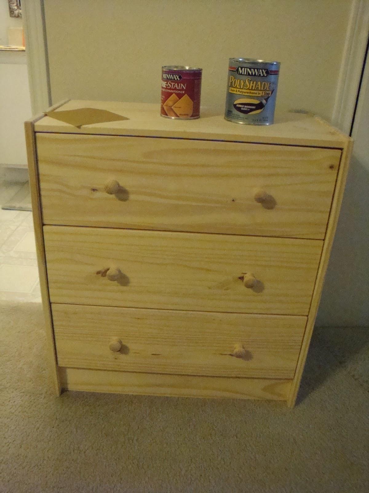 Crafting Fox IKEA Hack Rast 3 drawer dresser