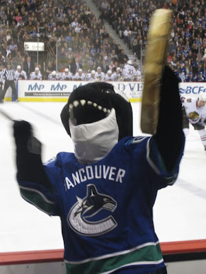 Canucks Fin