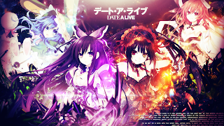 Date A Live Kurumi Tokisaki Kotori Itsuka Miku Izayoi Tohka Yatogami Anime Girl HD Wallpaper Desktop Background