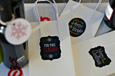 sale on wine gift bags