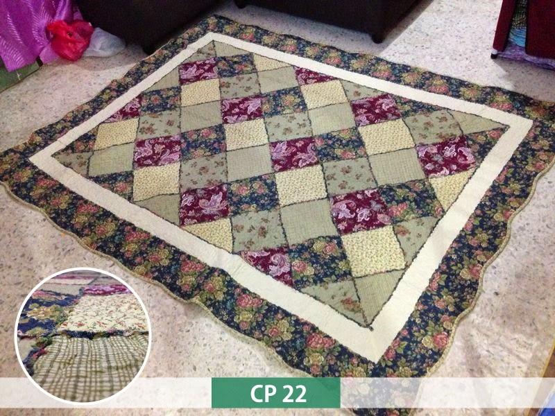 Cadar Murah Fabulous Cottage: PATCHWORK QUILT CARPET