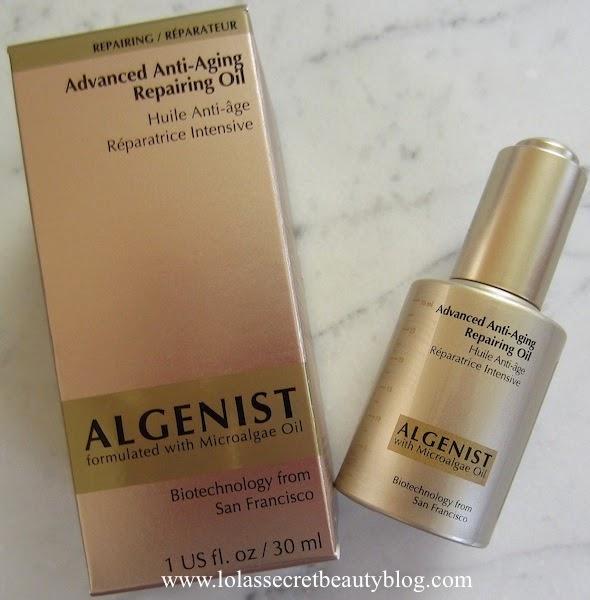 Algenist - Advanced Anti-Aging Repairing Oil - 30ml/1oz Collagen and Elastin Skin Cream - 2 oz. by Botanic Choice (pack of 2)