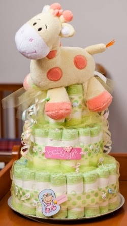 How To Make A Diaper Cake With Gifts Inside