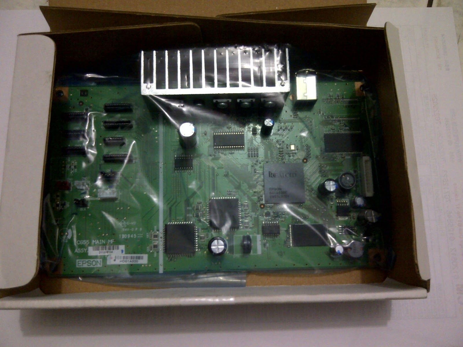 Printer Service Spesialis Mainboard Epson Lq 2190 Main Board Styus Photo 1390 New Rp 700000