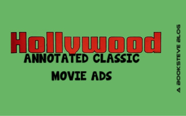 Hollywood Classic Annotated Movie Ads