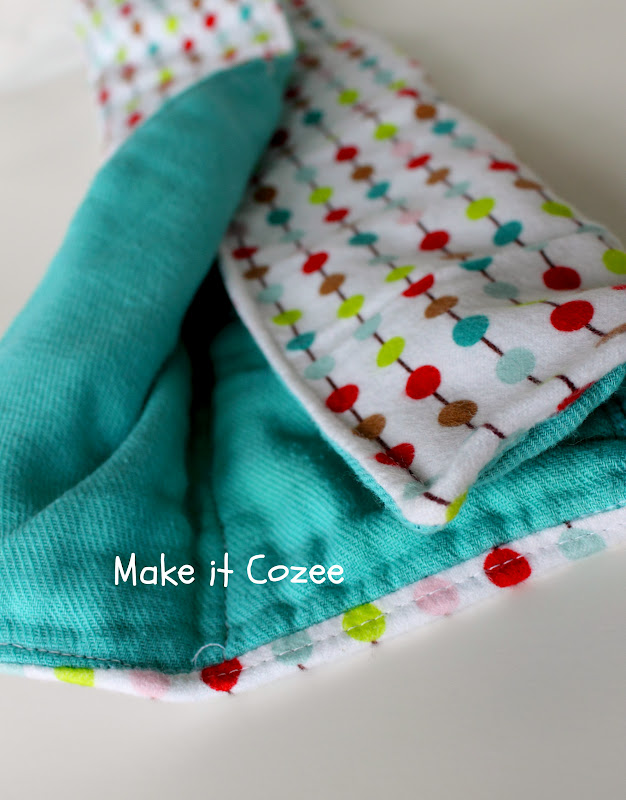 Make It Cozee How To Make The Best Burp Cloths