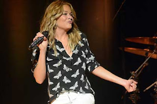 Leann Rimes takes the stage at Waterfront Hall in Belfast.