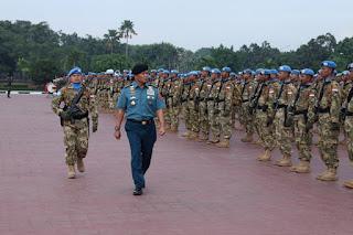1.169 Prajurit TNI Misi Perdamaian PBB kembali dari Lebanon