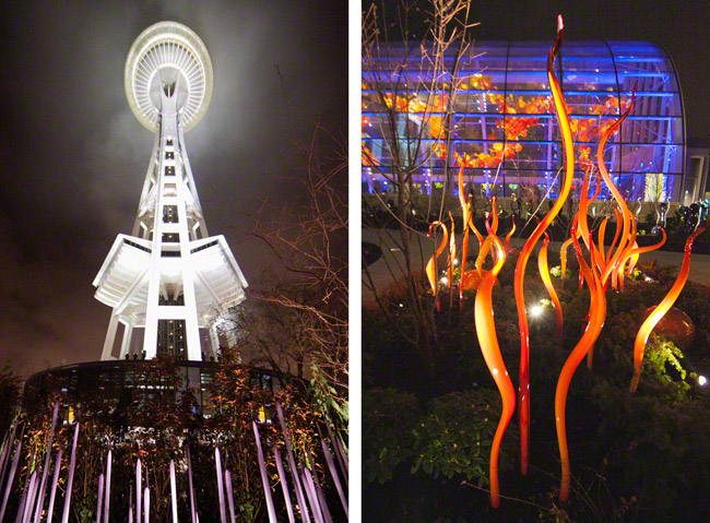 chihuly garden and glass wedding seattle