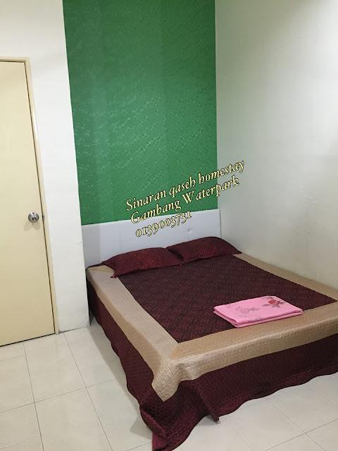 sinaran qaseh homestay, homestay terbaik gambar, homestay murah di gambang, bercuti di gambang homestay