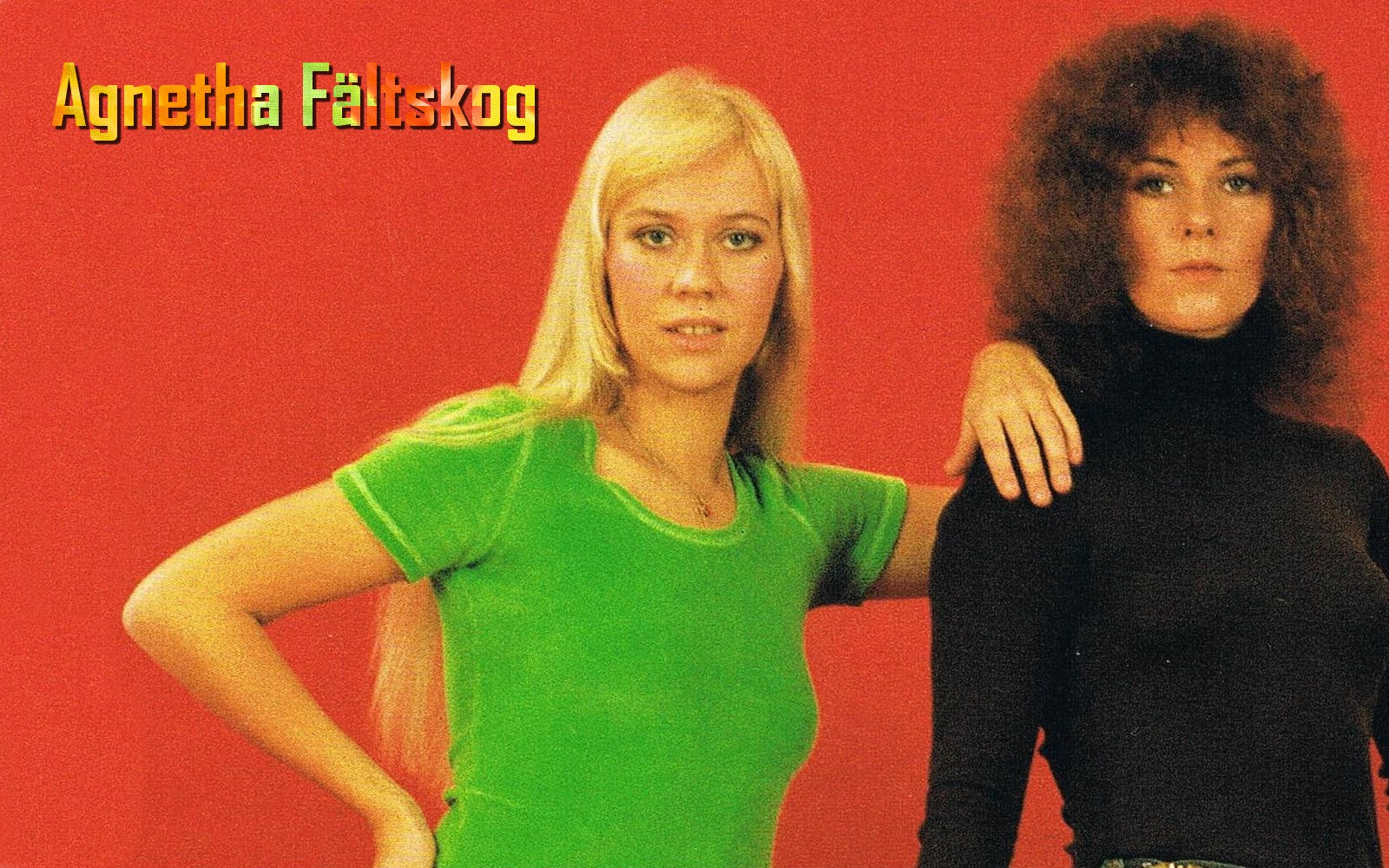 Filmovízia: Agnetha Fältskog Wallpaper [ABBA]