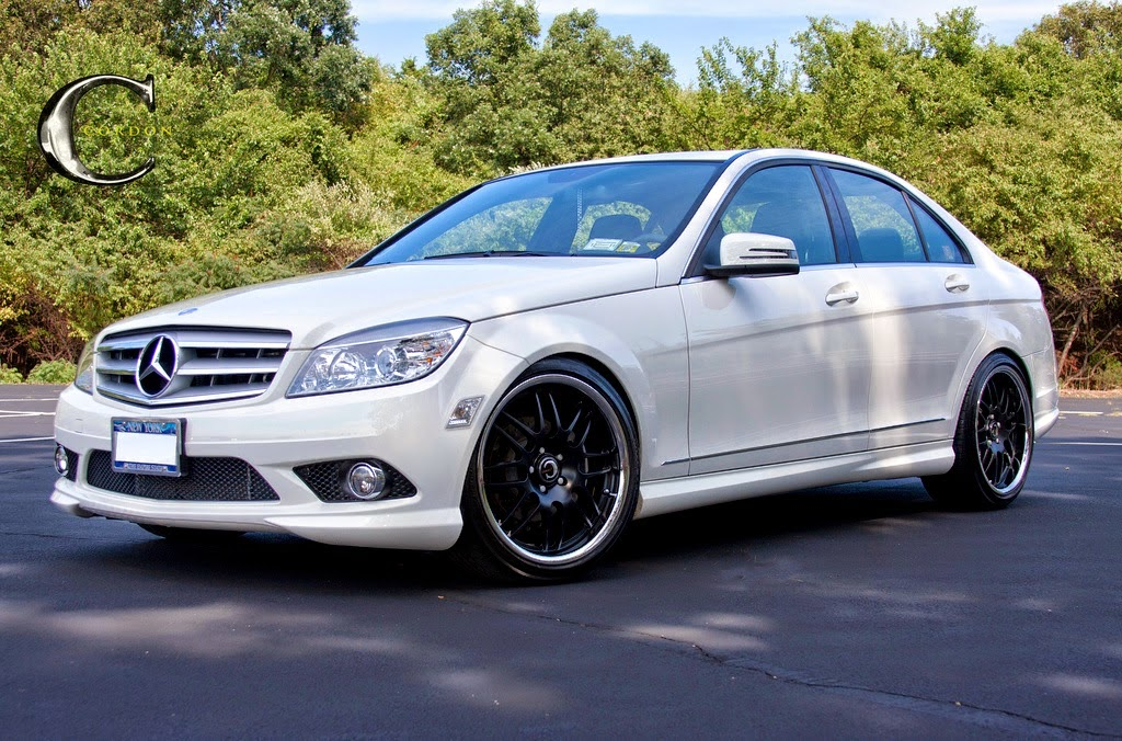 Mercedes benz w204 c300 on cordon wheels benztuning for Mercedes benz c300 rims