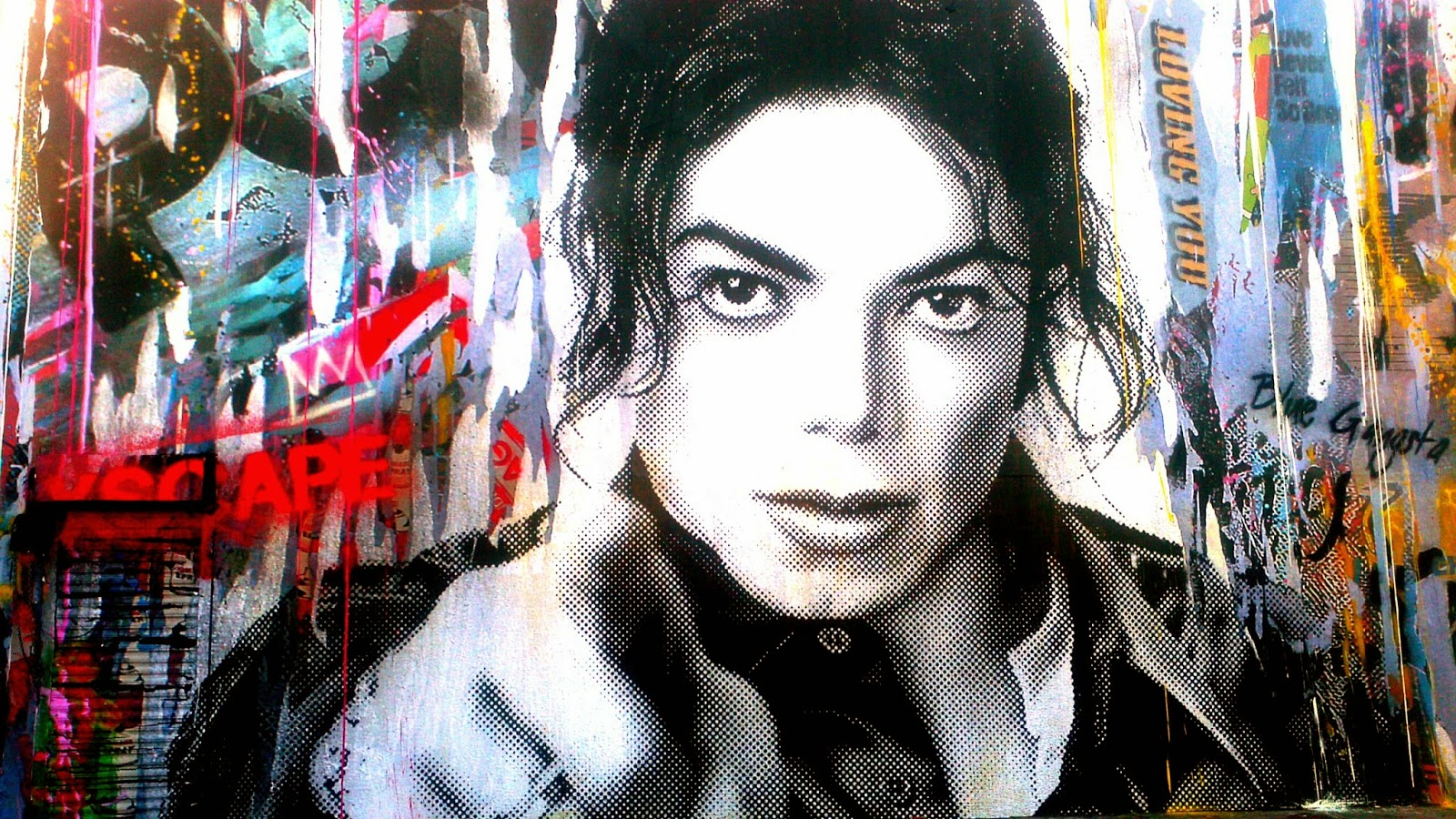 What happened to michael unreleased michael jackson 39 s for Blood in blood out mural la river