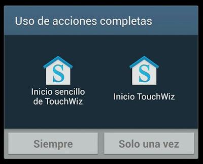 eliminar mensaje de inicio de touchwiz