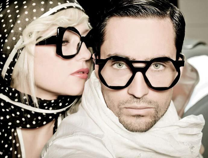 Dzmitry Samal's 2012 eyewear collection: Intersection. Photo: cessphoto.com