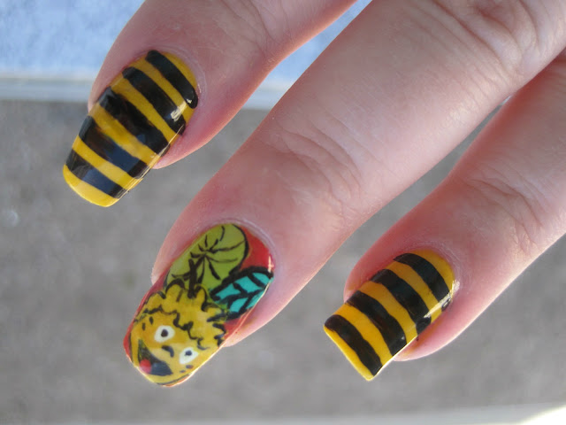 funny nails, amazing nails, nail art, beautiful nail art,