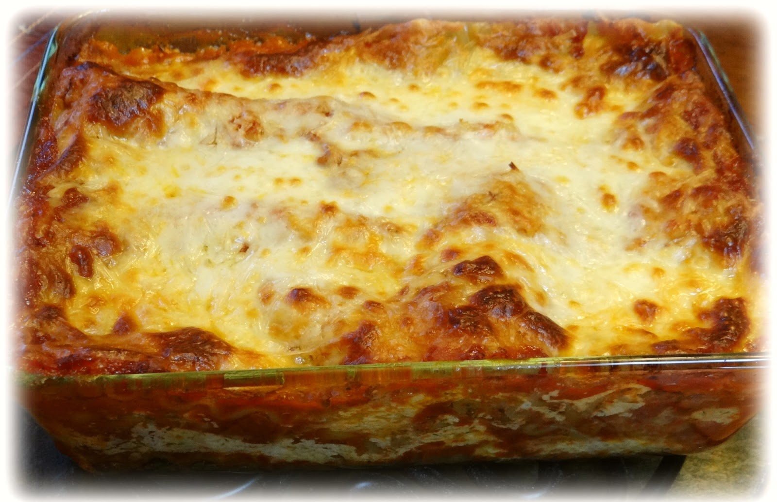 Calypso Cookcraftery: Three Cheese Lasagna