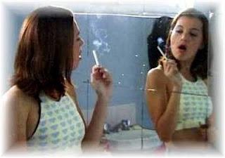 Fumagem deixada do teste