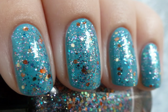 Shimmer polish Jennifer & Anny Midtown skyline