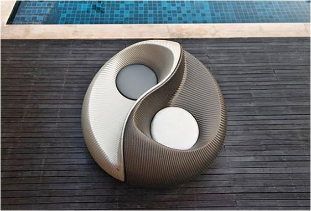 Unique and comfortable yin yang chair design amazing for Architecture yin yang