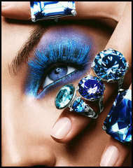 Party Wear Glitter Makeup