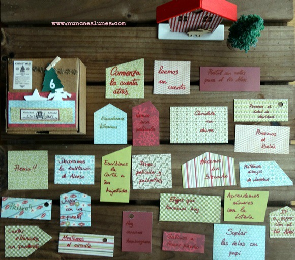 actividades calendario de adviento