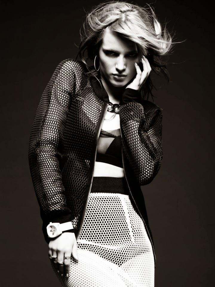 Bella Thorne goes edgy chic for Bullett Magazine 2014