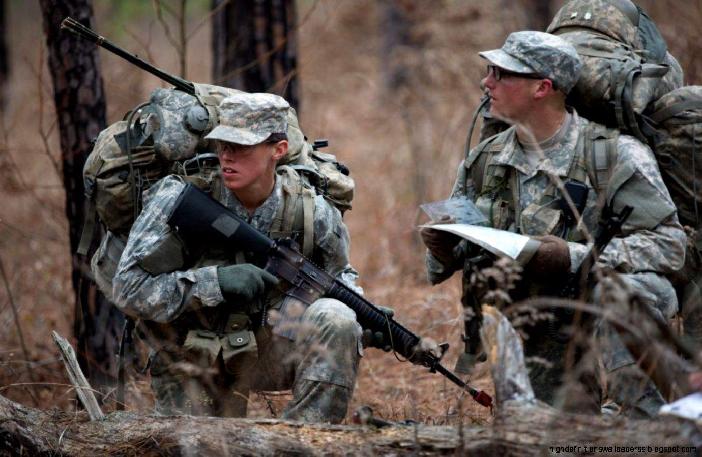 Us Army Rangers Field Training Excercise Wallpaper