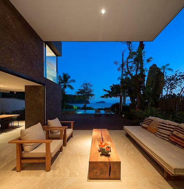 Rumah Minimalis Blends With Nature 8
