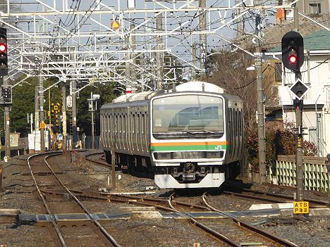 回送E231系U53(8520M車輪転削回送新前橋行き)@蓮田