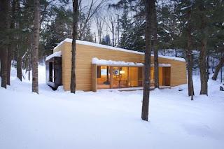 Casa de diseño en Canadá