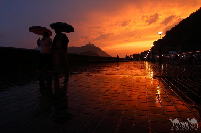 Consejos para hacer fotos con lluvia
