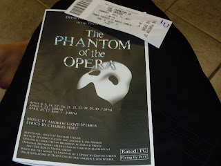 Haunted a Live Performance of Phantom of the Opera