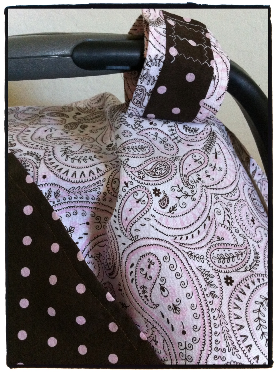 & Mo Momma: Sewing: DIY Car Seat Cover Canopy Tutorial