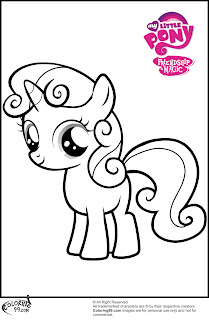 free mlp sweetie belle coloring pages to print